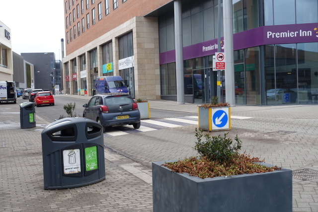 """Longbridge """"town centre"""" is dominated by cars"""