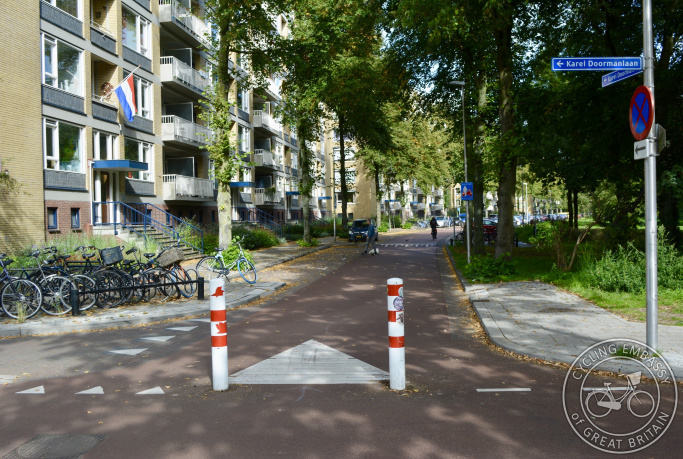 Filtered Permeability Using Bollards in the Netherlands