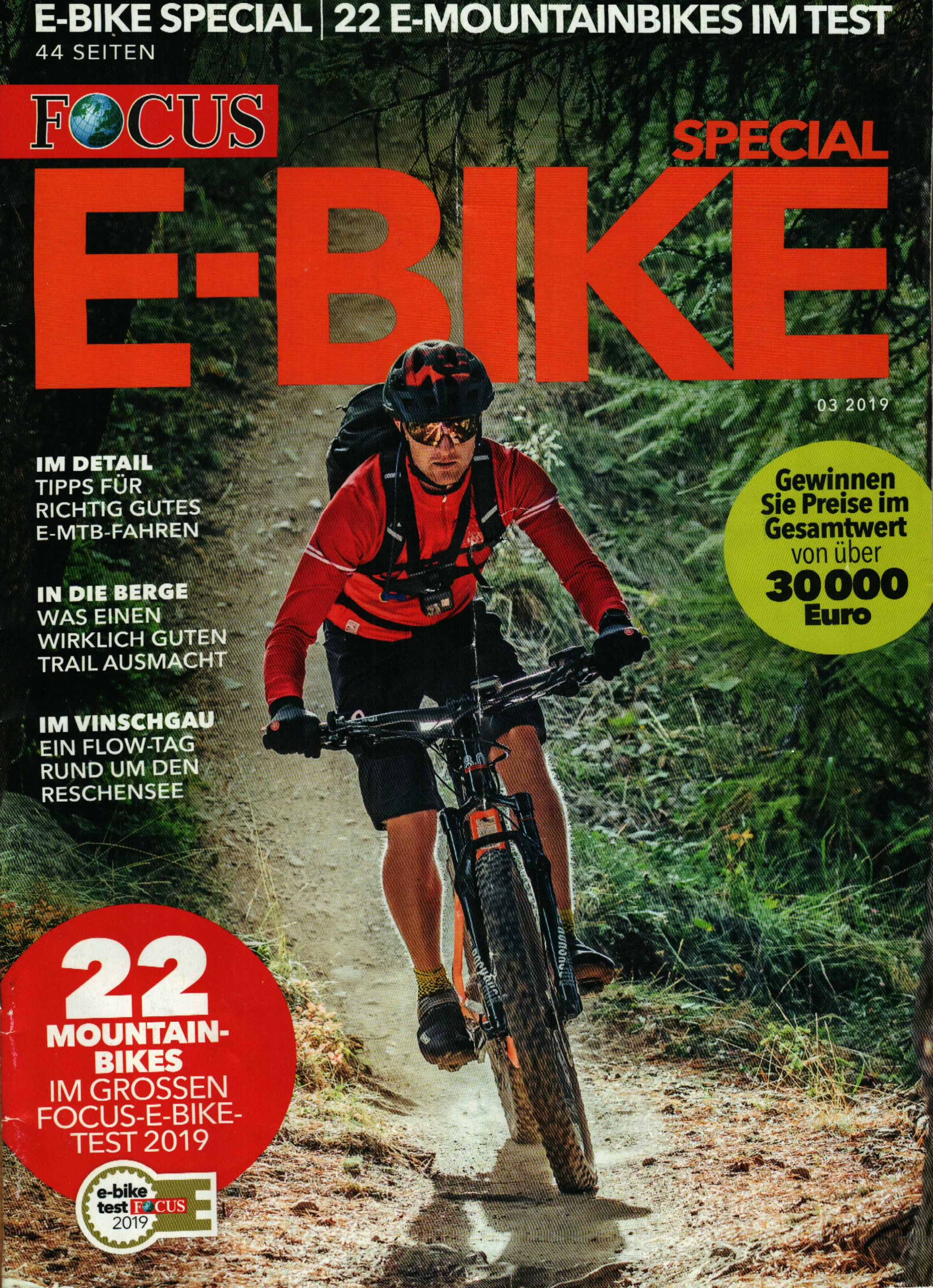 Focus magazine e-bike special