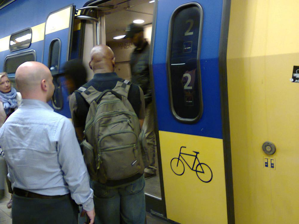 Plenty of space for cycles on Dutch trains