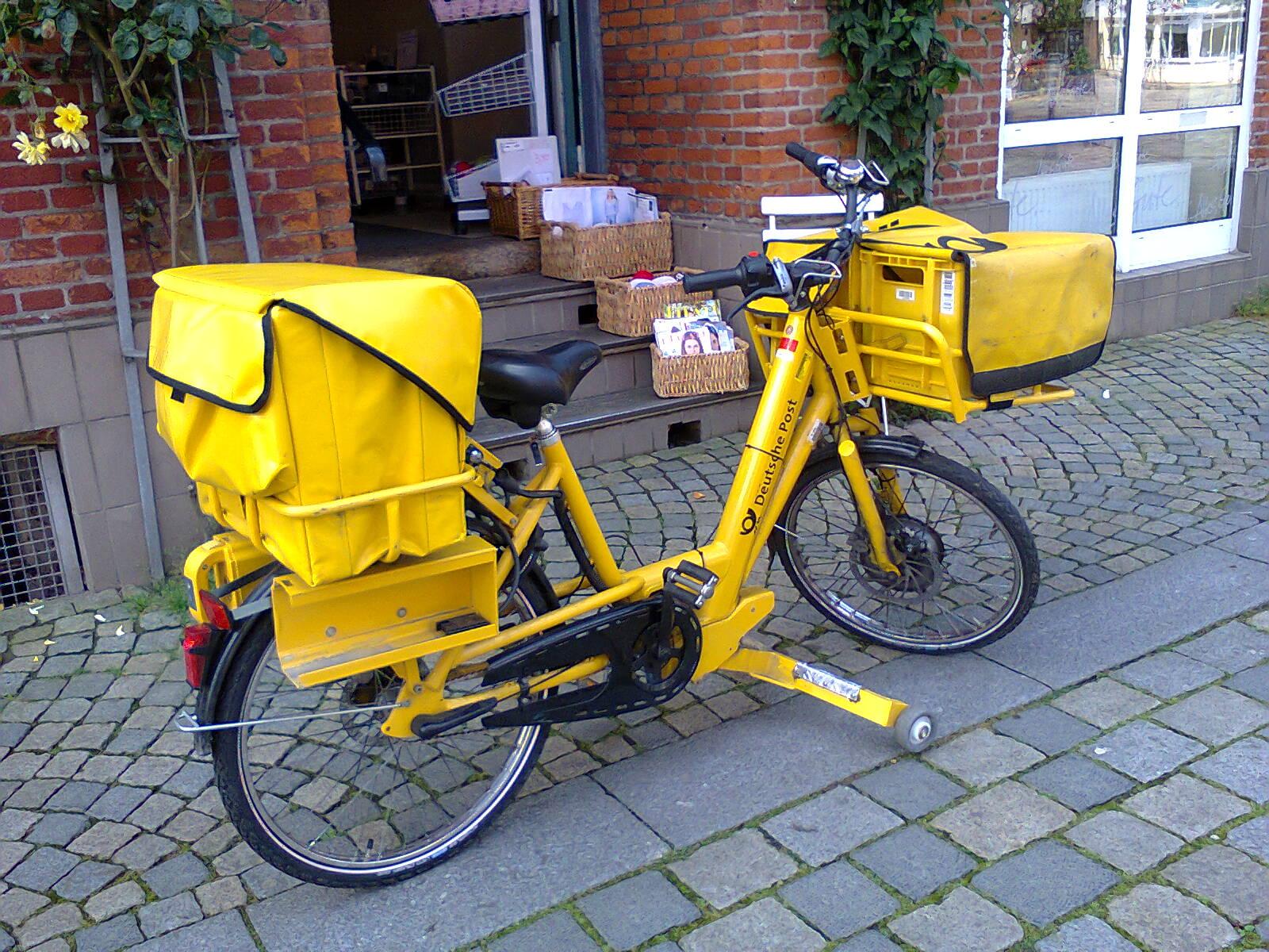 Deutsche Post delivery E-bike