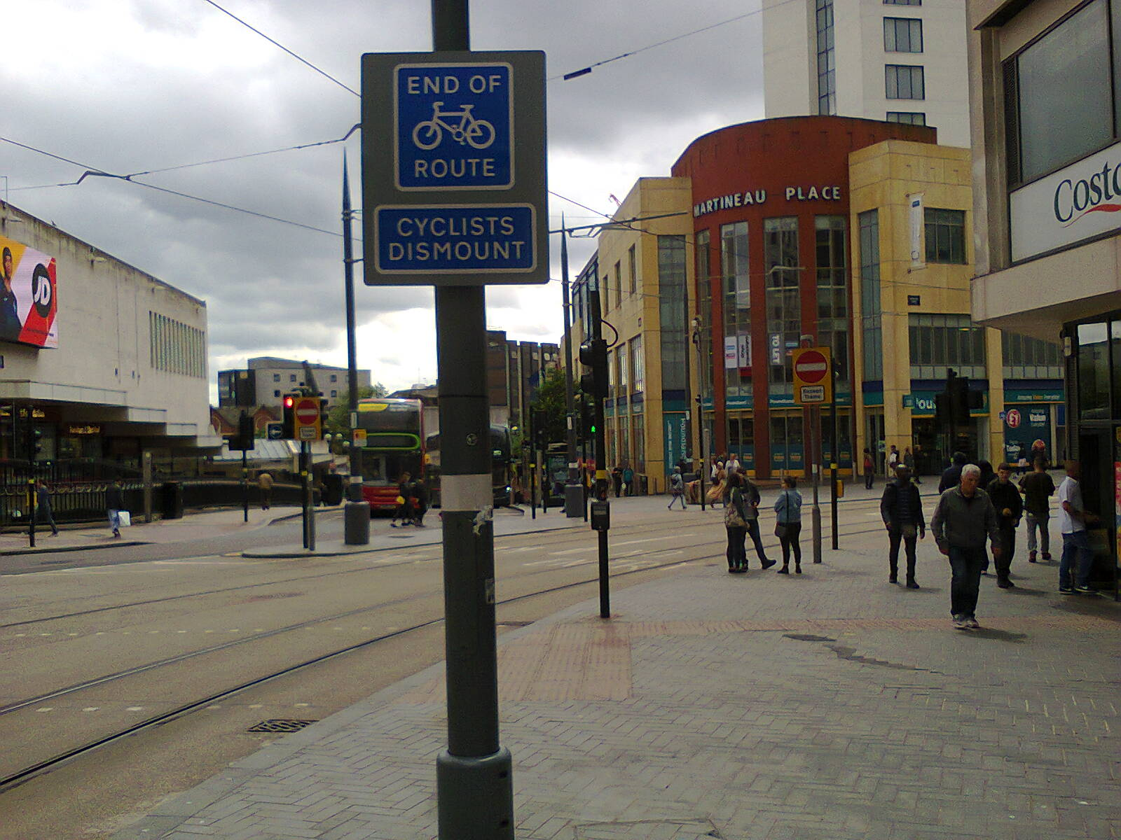 Bull Street Junction with Corporation Street