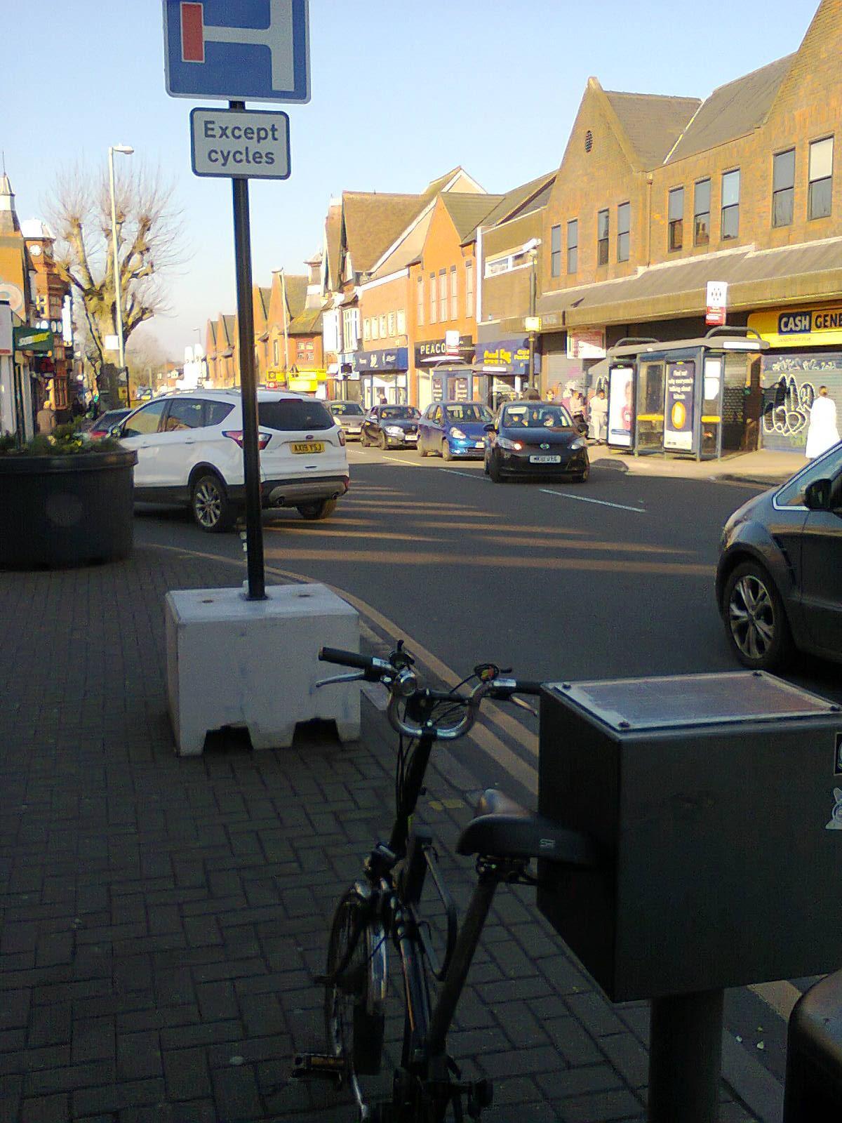 Kings Heath High Street on a Sunday