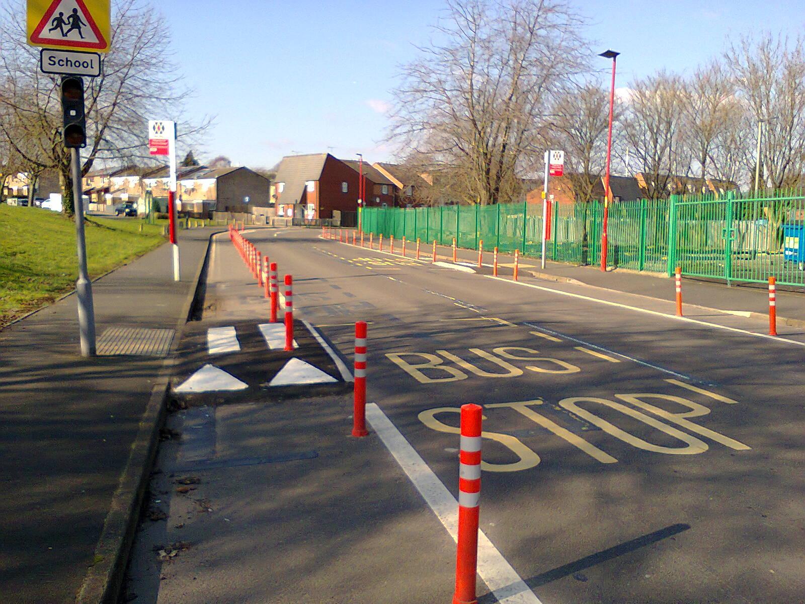 Pop-Up Cycle Lanes on Hingeston Street