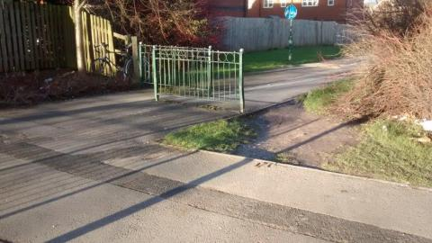 Barriers on NCN5