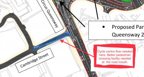 Proposed changes to Cambridge Street