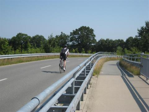Road cyclist in Germany
