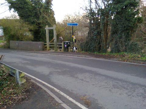 Awkward stymie gate