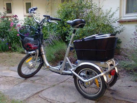 E-Trike mobility aid