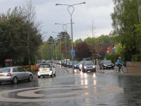 Poynton Shared Space - be careful what you wish for
