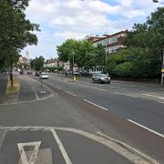 An example of dual cycling infrastructure.