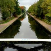 A view of the Birmingham main line canal