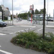 A busy junction in Schleswig