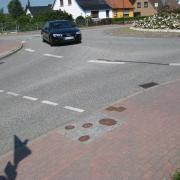 A single lane roundabout