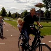 The school run in the Netherlands