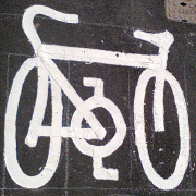 Badly drawn bike icon