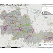 WMCA's strategic cycle network