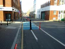 Jewellery Quarter Pop-Up Cycle Lane