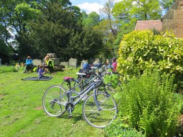 Cofton churchyard