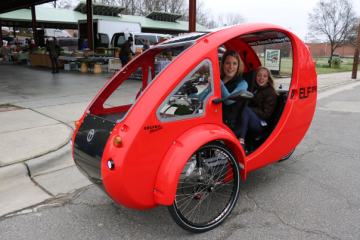 ELF cycle utility vehicle made by Organic Transit