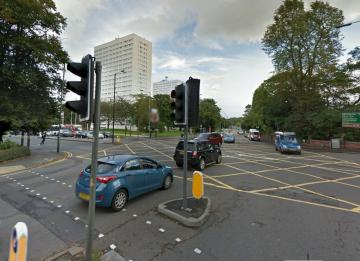 Priory Road Junction with Bristol Road