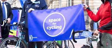 Space for Cycling Tory Party conference ride (David Weight / CTC - the national cycling charity)