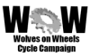 Wolves on Wheels logo